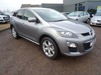 USED 2010 10 MAZDA CX-7 2.2 TD Sport Tech 5dr 2 KEYS, 5 MAIN AGENT STAMPS,FOUR WHEEL DRIVE 12 MONTHS MOT FROM SALE,12 MONTHS WARRANTY