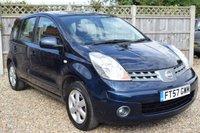 2008 NISSAN NOTE 1.6 ACENTA 5d AUTO 109 BHP £3499.00