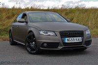 2010 AUDI A4 2.0 TDI S LINE 4d AUTO 143 BHP £11995.00