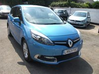 2013 RENAULT GRAND SCENIC 1.5 GRAND DYNAMIQUE TOMTOM ENERGY DCI S/S �20 YEARLY ROAD TAX £8500.00
