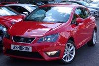 2012 SEAT IBIZA 1.6 TDI CR FR 3d 105 BHP £6983.00