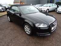 USED 2011 61 AUDI A3 1.6 TDI CR 2dr  1 Owner 3 Service Stamps,Sports Leather Trim,2 Keys,Daytime Running Lghts