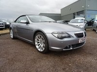 USED 2006 56 BMW 6 SERIES 4.8 650i Sport 2dr 6 MAIN DEALER SERVICE STAMPS, 2 SPECIALIST STAMPS,LAST SERVE AT 97K, 2 OWNERS,SPARE KEY, SAT NAV, 12 MONTS MOT