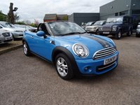 USED 2013 63 MINI ROADSTER 1.6 Cooper 2dr LOW COST FINANCE