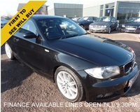 USED 2008 08 BMW 1 SERIES 2.0 123d M Sport 2dr FINANCE OPTIONS AVAILABLE