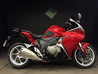 2013 HONDA VFR 1200 F-D. ABS. TRACTION. 13823. FSH. H GRIPS £6999.00
