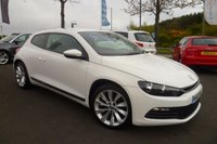 USED 2012 62 VOLKSWAGEN SCIROCCO 2.0 TDI BlueMotion Tech 3dr MAIN DEALER HISTORY