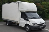 2003 FORD TRANSIT 2.4 350 3d 123 BHP LWB HIGH ROOF DIESEL MANUAL LUTON VAN  £1990.00