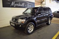 USED 2006 56 MITSUBISHI SHOGUN 3.5 WARRIOR EQUIPPE V6 GDI LWB 5d AUTO 200 BHP S/H - WARRIOR - LEATHER - SIDE STEPS - CRUISE - PRIVACY GLASS - TOWBAR