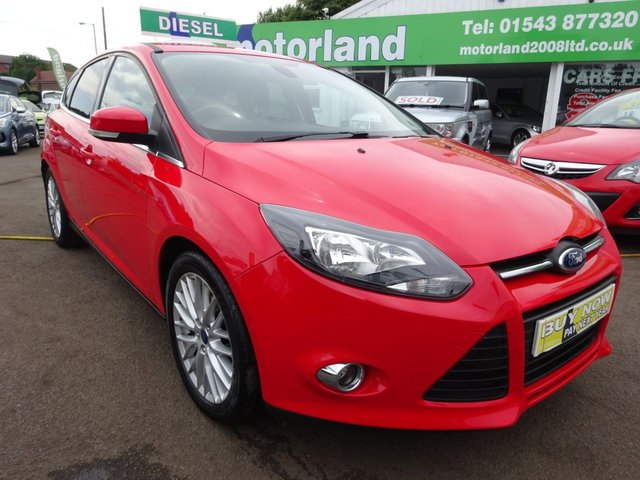 USED 2014 63 FORD FOCUS 1.6 ZETEC TDCI 5d 113 BHP £0 DEPOSIT FINANCE AVAILABLE ON THIS CAR