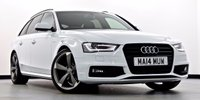 2014 AUDI A4 AVANT 2.0 TDI Black Edition Multitronic 5dr  £20995.00