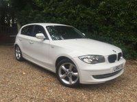 2010 BMW 1 SERIES 2.0 116I SPORT 5d 121 BHP £6989.00