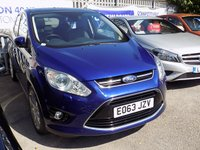 2013 FORD C-MAX 2.0 TDCi TITANIUM X  (160) Pan Roof & Half Leather £11000.00
