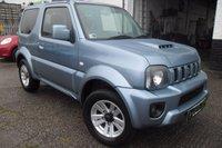 2013 SUZUKI JIMNY 1.3 SZ4 3d AUTO 85 BHP £10500.00