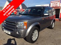 2007 LAND ROVER DISCOVERY 2.7 3 TDV6 SE 5d AUTO 188 BHP 7 SEATER DIESEL £11995.00