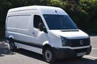 2012 VOLKSWAGEN CRAFTER 2.0 CR35 TDI 5d 107 BHP MWB HIGH ROOF DIESEL MANUAL VAN £7990.00