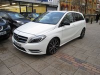 2013 MERCEDES-BENZ B CLASS 1.8 B180 CDI BLUEEFFICIENCY SPORT 5d AUTO 109 BHP £14995.00
