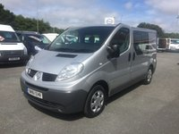 2011 RENAULT TRAFIC SL27 2.0 DCI 115 6-Speed 6-SEATER CREW £SOLD