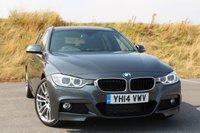 2014 BMW 3 SERIES 2.0 320D M SPORT TOURING 5d 181 BHP £20950.00