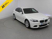 2013 BMW 5 SERIES 2.0 520D M SPORT 4d AUTO 181 BHP £17950.00