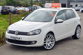 2012 VOLKSWAGEN GOLF 2.0 GT TDI BLUEMOTION TECHNOLOGY 138 BHP *FULL LEATHER* £10250.00