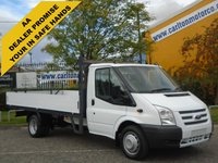 USED 2014 63 FORD TRANSIT 125 T350 Lwb Dropside 13.5ft Alloy Body Free UK Delivery