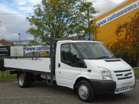 2014 FORD TRANSIT 350 LWB 2.2 125 13ft Alloy Body Dropside/Pickup125Ps £11950.00