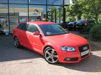2010 AUDI A3 2.0 SPORTBACK TDI S LINE SPECIAL EDITION 5d 138 BHP £7790.00