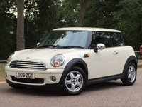 2009 MINI HATCH COOPER 1.6 COOPER 3d 118 BHP £6495.00