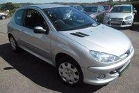 2007 PEUGEOT 206 1.6 LOOK 3d AUTO 108 BHP £3000.00