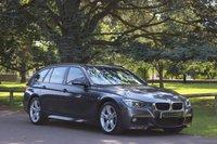 2014 BMW 3 SERIES 3.0 330D M SPORT TOURING 5d AUTO 255 BHP £23490.00