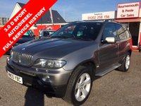 2005 BMW X5 3.0 D SPORT 5d AUTO 215 BHP £7695.00
