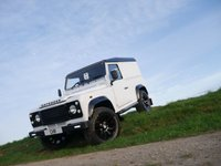 USED 2006 55 LAND ROVER DEFENDER 2.5 90 HARD-TOP TD5 1d 120 BHP £294.22 FINANCE AVAILABLE PCM, LOW MILES AND FULLY RECONDITIONED.