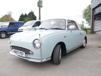 USED 2008 C NISSAN FIGARO 1.0 FK10 2d AUTO 75 BHP PETROL, AUTOMATIC, CONVERTIBLE WITH FULL LEATHER INTERIOR