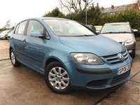 USED 2006 06 VOLKSWAGEN GOLF PLUS 1.6 SE 5d 114 BHP