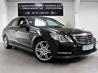 2012 MERCEDES-BENZ E CLASS 2.1 E220 CDI BLUEEFFICIENCY S/S SPORT 4d AUTO 170 BHP £13980.00