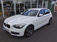 2013 BMW 1 SERIES 1.6 114D SPORT 5DR £12399.00