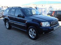 2003 JEEP GRAND CHEROKEE 2.7 OVERLAND CRD 5d AUTO 161 BHP £1750.00