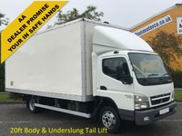 USED 2011 11 MITSUBISHI FUSO CANTER 7C15 Box Van Lwb 20ft Grp Body+T/L [ Low Mileage ] Free UK Delivery