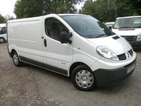 2009 RENAULT TRAFIC 2.0 DCI 115 PS 6 SPEED, LL29 2900KG LWB  £4395.00