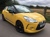 2012 CITROEN DS3 1.6 THP DSPORT 3d 156 BHP £SOLD