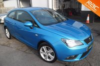 USED 2014 14 SEAT IBIZA 1.4 TOCA 3d 85 BHP GREAT COLOUR COMBINATION
