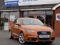 2013 AUDI A1 1.6 TDi Sport 3dr * Sat Nav Full Black Leather * £10999.00
