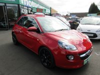 USED 2013 13 VAUXHALL ADAM 1.2 JAM 3d 69 BHP ***JUST ARRIVED...TEST DRIVE TODAY***NO DEPOSIT DEALS
