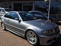 2004 BMW 3 SERIES 2.0 320CD SPORT 2d 148 BHP £3695.00