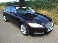 2010 JAGUAR XF 3.0 V6 LUXURY 4d AUTO 240 BHP £9995.00