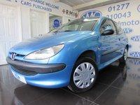 2000 PEUGEOT 206 1.1 LX 3d 60 BHP £895.00