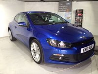 2010 VOLKSWAGEN SCIROCCO 2.0 GT TDI 2d 170 BHP £11343.00