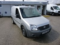 2012 FORD TRANSIT CONNECT 1.8TDCi T220 Low Roof 75 BHP - One Owner - FSH - Silver £5995.00