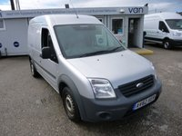 2013 FORD TRANSIT CONNECT 1.8TDCi T230 LWB - High Roof 90 BHP - Silver - £5795.00